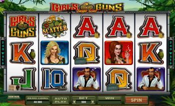 Girls With Guns Online Slots