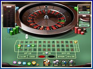 Roulette Game at Lucky Nugget