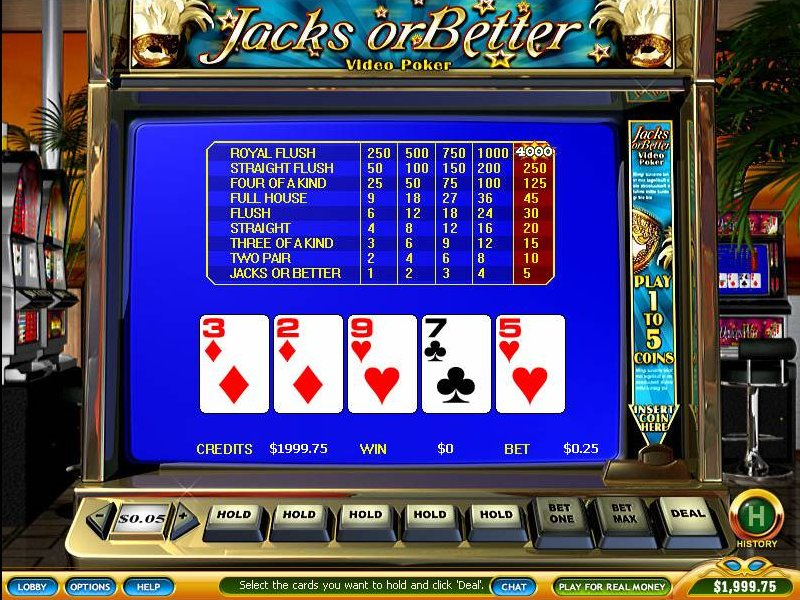 online casino video poker spielautomat spiel